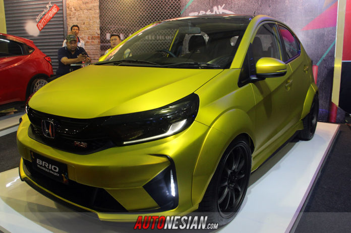 Honda Brio Modifikasi Indonesia Modification Expo IMX 2019