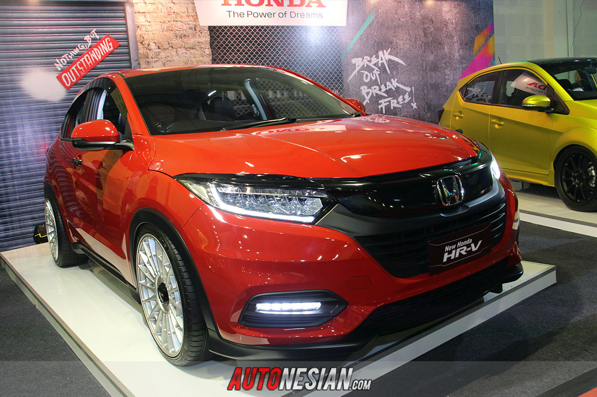 Honda HR-V Modifikasi Indonesia Modification Expo IMX 2019