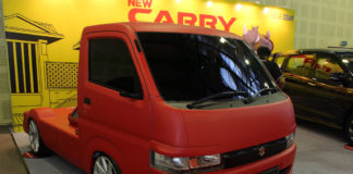 Suzuki New Carry Fluzh Concept Indonesia Modification Expo