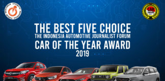 lima finalis mobil terbaik forwot car of the year 2019