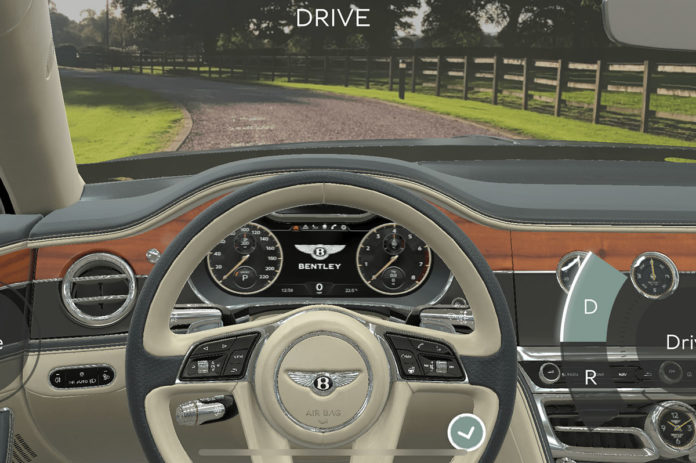 Bentley Augmented Reality All New Flying Spur