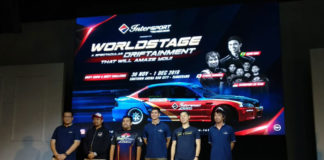 Drift otomotif Intersport World Stage 2019