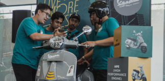 Vespa GTS Super Tech Dealer Open Day Sidoarjo 2019