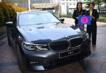 bmw flagship store lazada mall indonesia