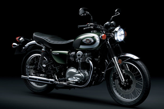 kawasaki W800 Indonesia Green
