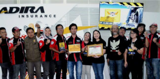 Adira Insurance Safety campaign award 2019