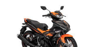 Yamaha MX-King 150 Orange Indonesia
