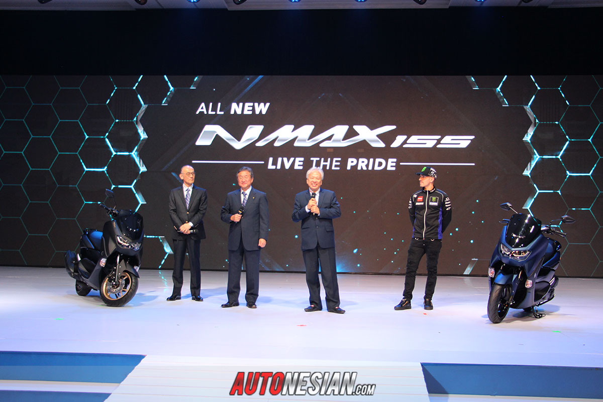 all New Yamaha Nmax standar dan Abs MY 2020