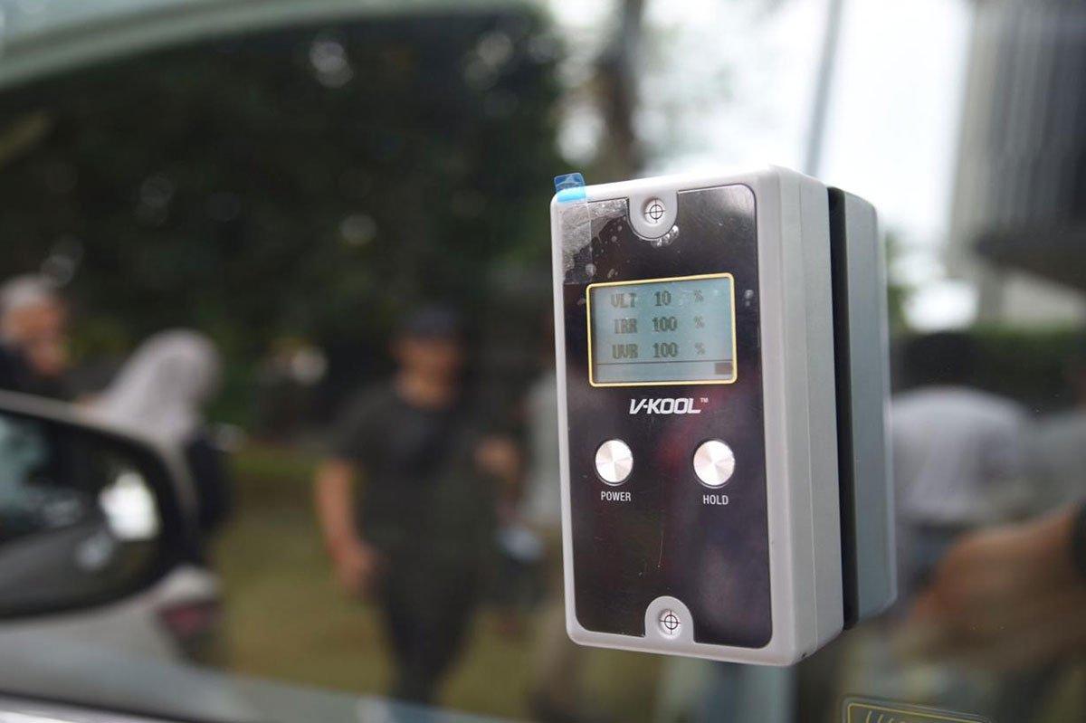 Kaca Film mobil V-Kool VK30 dan VK10