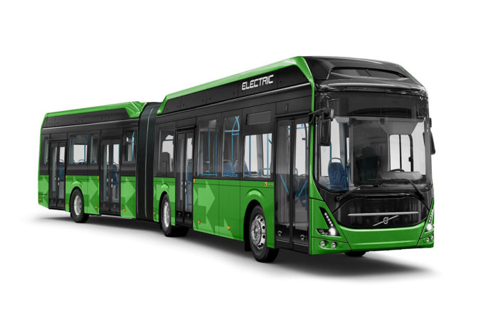 volvo bus electric nobina swedia