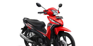 New Honda Revo X Attractive Red
