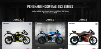 Suzuki GSX Series Digital pemenang januari 2020