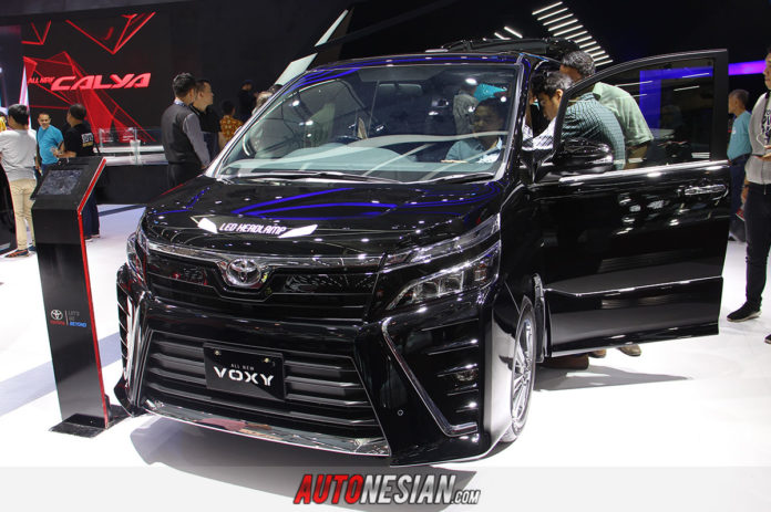 All New Toyota Voxy Indonesia GIIAS 2017