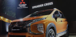 Mitsubishi Xpander Cross Indonesia Sunrise Orange Metallic
