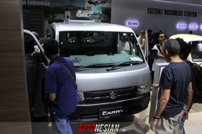 New Suzuki Carry Pickup Kendaraan Komersial