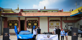 Lamborghini Club Indonesia Peduli Indonesia Covid-19