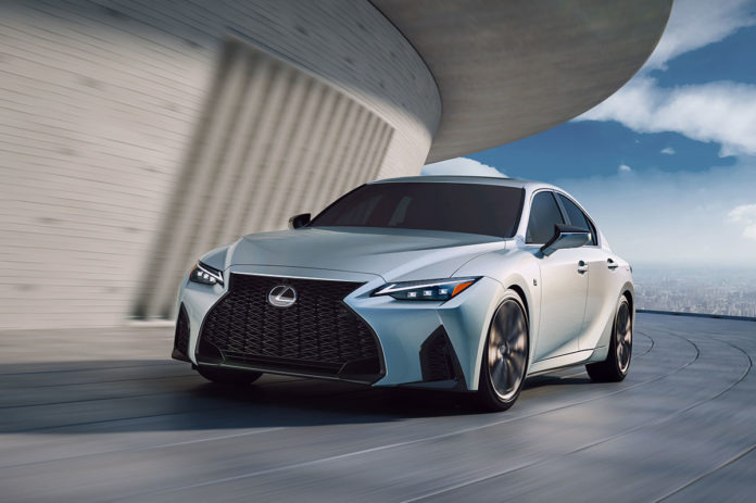 New Lexus IS MY2021