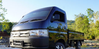 New suzuki carry pickup hitam