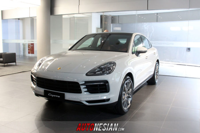 New Porsche Cayenne S Coupe Indonesia