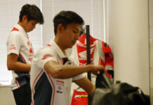 baju balap astra honda racing team