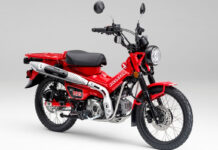 Honda CT125 Indonesia