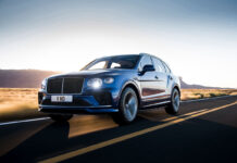New Bentley Bentayga Speed