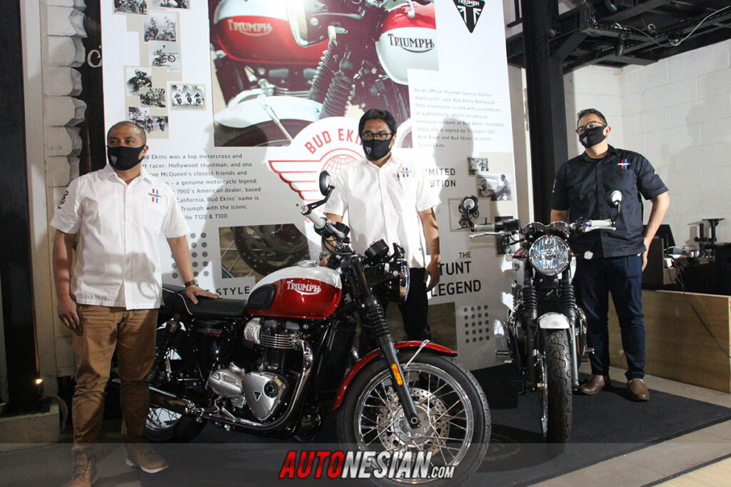 New Triumph Bonneville T100 dan T120 Indonesia