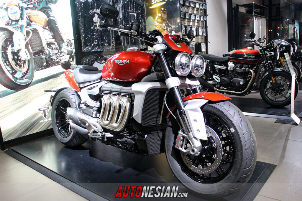 New Triumph Rocket R Indonesia