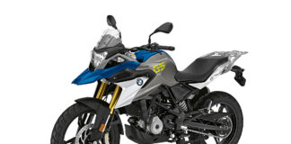 BMW G 310 GS Strato Blue Metallic Indonesia