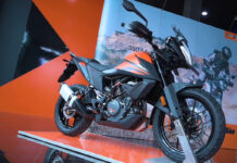 KTM 390 Adventure Indonesia Oranye