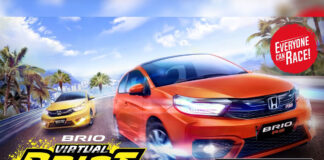 Mobile Game Honda Brio Virtual Drift Challenge