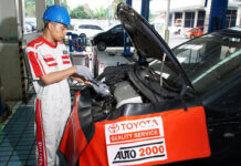 Layanan servis Toyota Auto2000