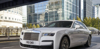 New Rolls-Royce Ghost United Kingdom London
