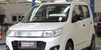 Suzuki Karimun Wagon R 50th Anniversary Edition Indonesia