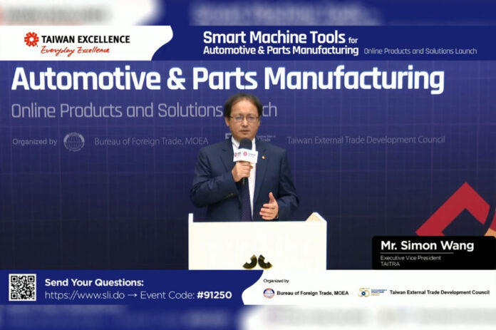 Taiwan Excellence Smart Machine Tools for Automotive Manufacturing Online Products and Solutions