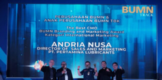 Pertamina Lubricants BUMN Branding & Marketing Award 2020
