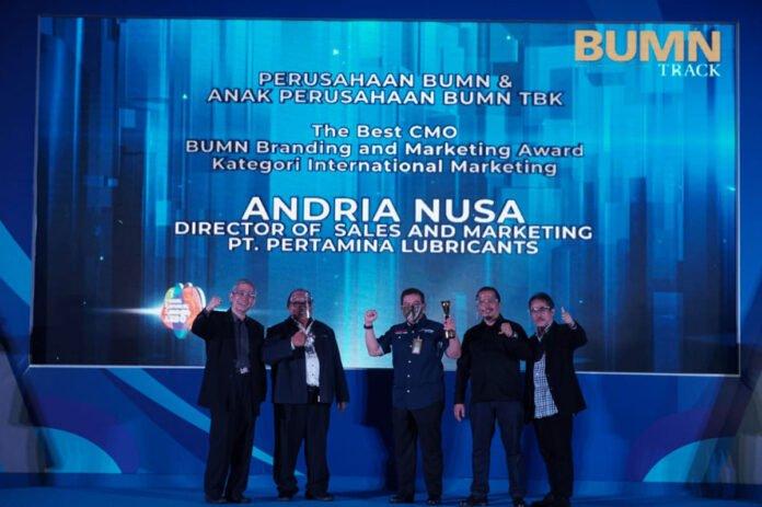 Pertamina Lubricants BUMN Branding & Marketing Award 2020