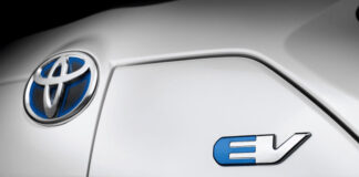 Toyota Electric Vehicle logo
