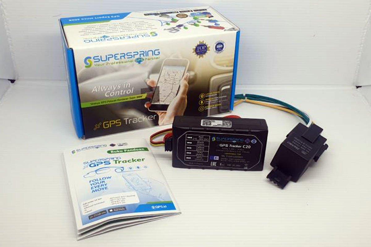Super spring c20 gps tracker