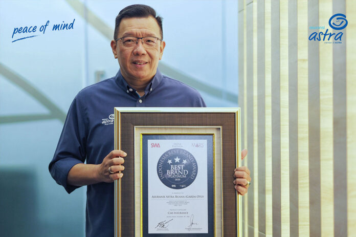 Garda Oto Indonesia best Brand award 2020