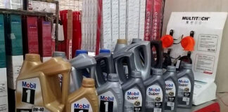 Mobil Lubricants Super Indonesia