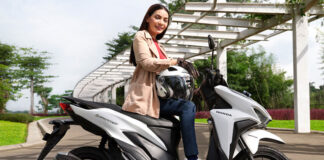 Honda New Vario 125 Advance Matte White