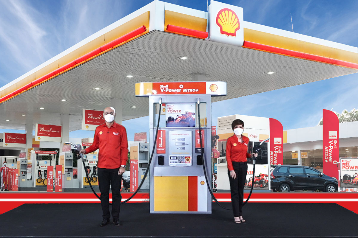 Shell V-Power Nitro+ Indonesia