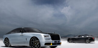 Rolls-Royce Wraith and Dawn Black Badge Landspeed Collection