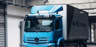 Mercedes-Benz eActros truk listrik