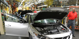 Nissan Smyrna Tennessee Production